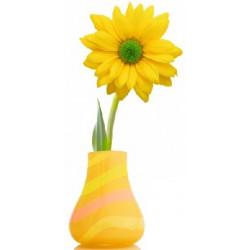 Sticker fleur en pot