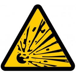 Sticker Danger matière nocive