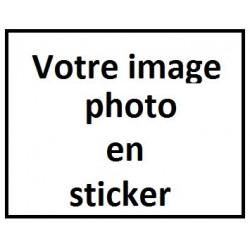 A) Votre image Chien en sticker !