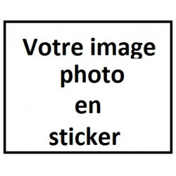 A- Votre image / photo en sticker !