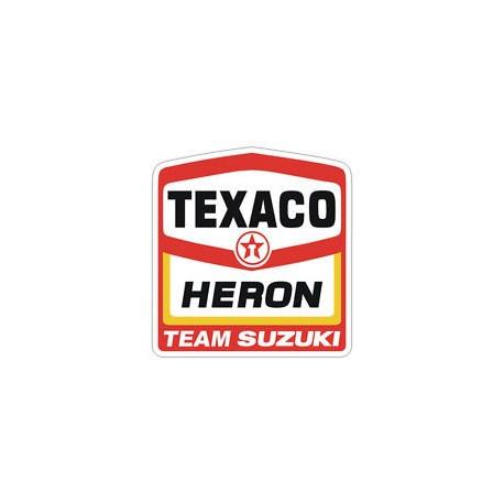 Sticker TEXACO rond vintage