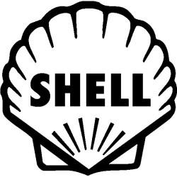 Sticker SHELL couleur au choix