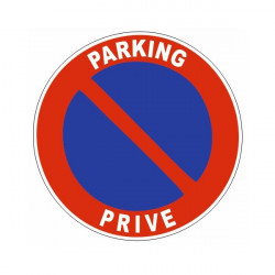 Sticker parking privé
