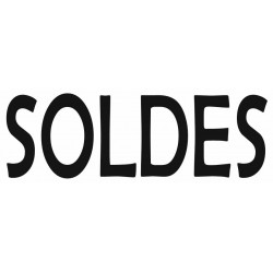 Sticker lettrage SOLDES