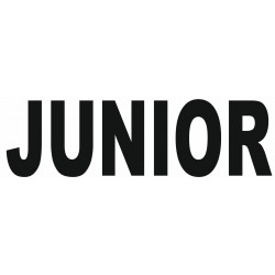Sticker lettrage JUNIOR