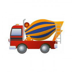 Sticker Camion grue