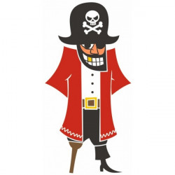 Sticker Pirate enfant