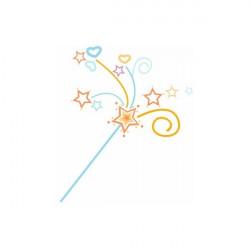 Sticker Princesse Baguette magique