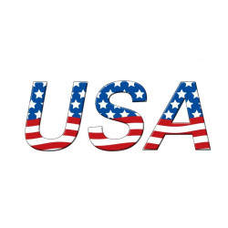 Sticker Etats Unis UNITED STATES
