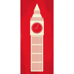 Sticker Londres garde