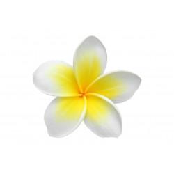 Sticker Fleurs tiarés jaune