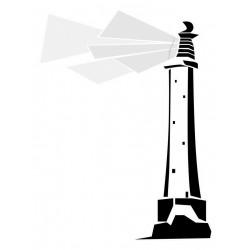 Sticker phare ocean