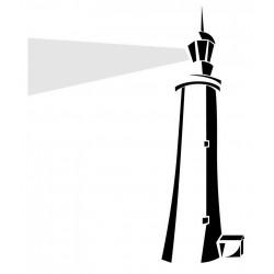Sticker phare bretagne