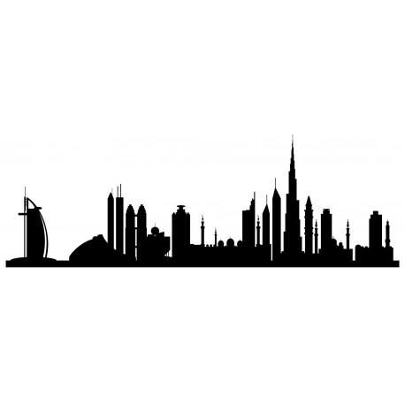 Sticker mural Dubai