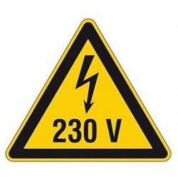Sticker Danger haute température