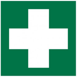 Sticker protection - premiers secours pharmacie