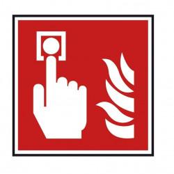 Sticker incendie - ne rien stocker ici