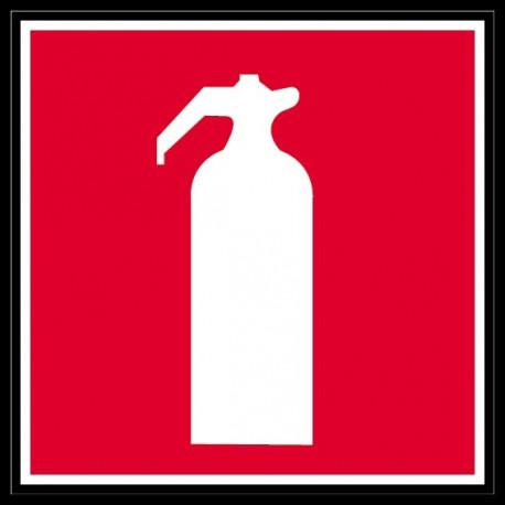 Sticker incendie - extincteur