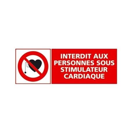 Sticker interdiction - d'entreposer