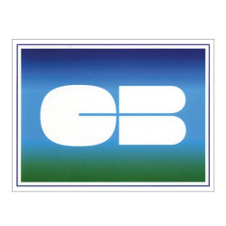 Sticker Logo Cb carte bancaire simple