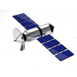 Sticker Espace satelite