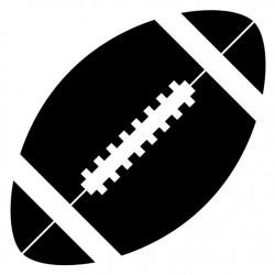 Sticker Balle de rugby