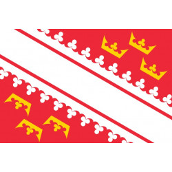 Sticker drapeau Alsace