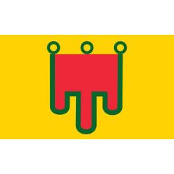 Sticker drapeau Aquitaine