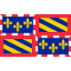 Sticker drapeau Auvergne