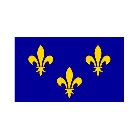 Sticker drapeau Franche Comté