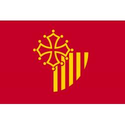 Sticker drapeau Languedoc Roussillon