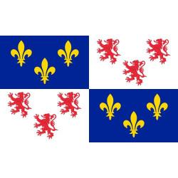 Sticker drapeau Picardie