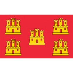 Sticker drapeau Poitou Charentes