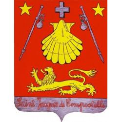 Sticker Drapeau Saint Jacques de Compostelle