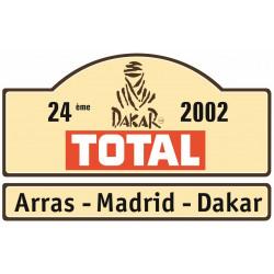 Sticker DAKAR