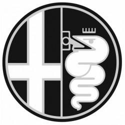 Sticker ALFA ROMEO NOIR BLANC