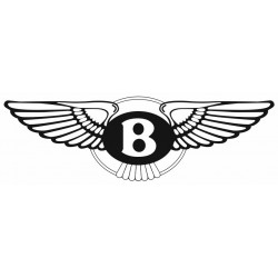 Sticker BENTLEY NOIR BLANC