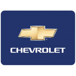 Sticker CHEVROLET RECTANGLE BLEU