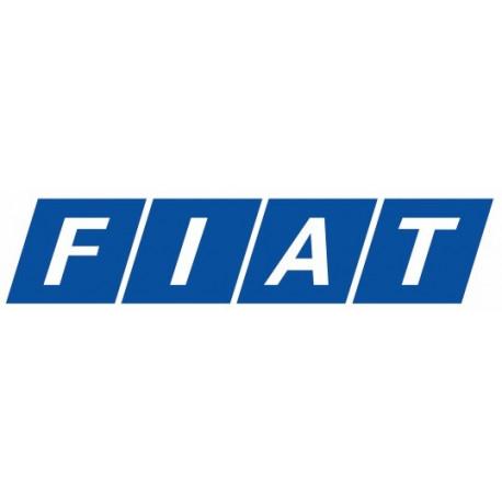 Sticker FIAT BLEU