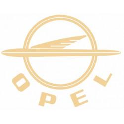 Sticker OPEL CREME