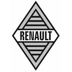Sticker RENAULT LOSANGE GRIS