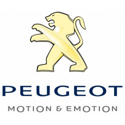 Sticker PEUGEOT LION JAUNE