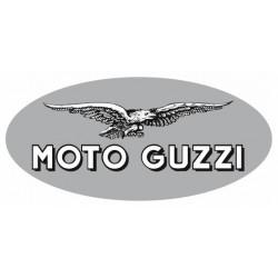 Sticker GUZZI ROND GRIS