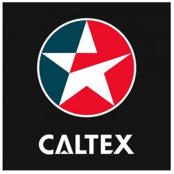 Sticker CALTEX CARRE NOIR