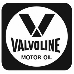 Sticker VALVOLINE CARRE NOIR