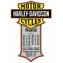 Sticker HARLEY DAVIDSON MOTORS CYCLES
