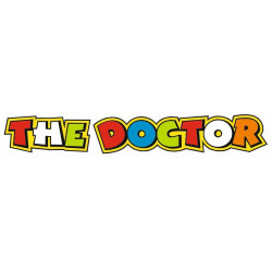 Sticker ROSSI THE DOCTOR COULEUR