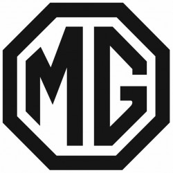Sticker MG NOIR BLANC