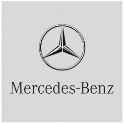 Sticker MERCEDES BENZ CARRE GRIS
