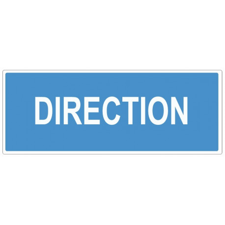 Sticker obligation - Direction